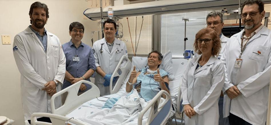 Tratamento pioneiro testado por pesquisadores da USP promove alta em paciente terminal