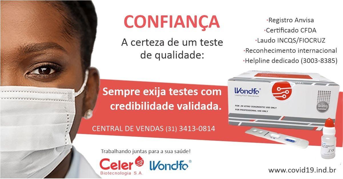 Celer Biotecnologia: A certeza de um teste de qualidade.