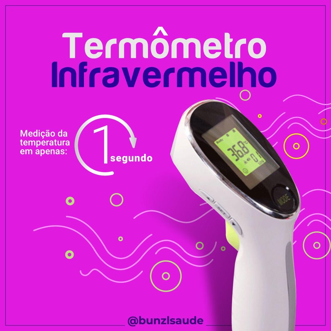 Termômetro Infravermelho | Bunzl Saúde