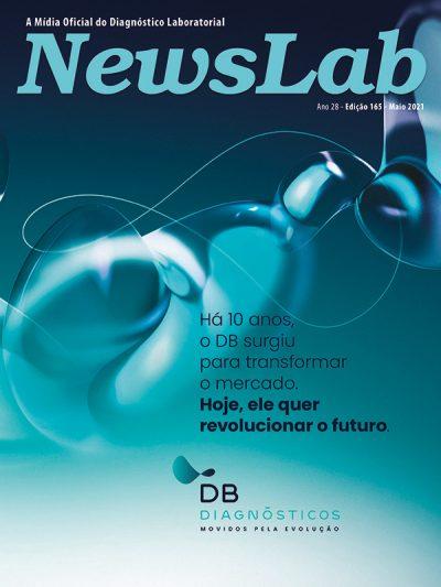 Capa Revista Newslab Edição 165